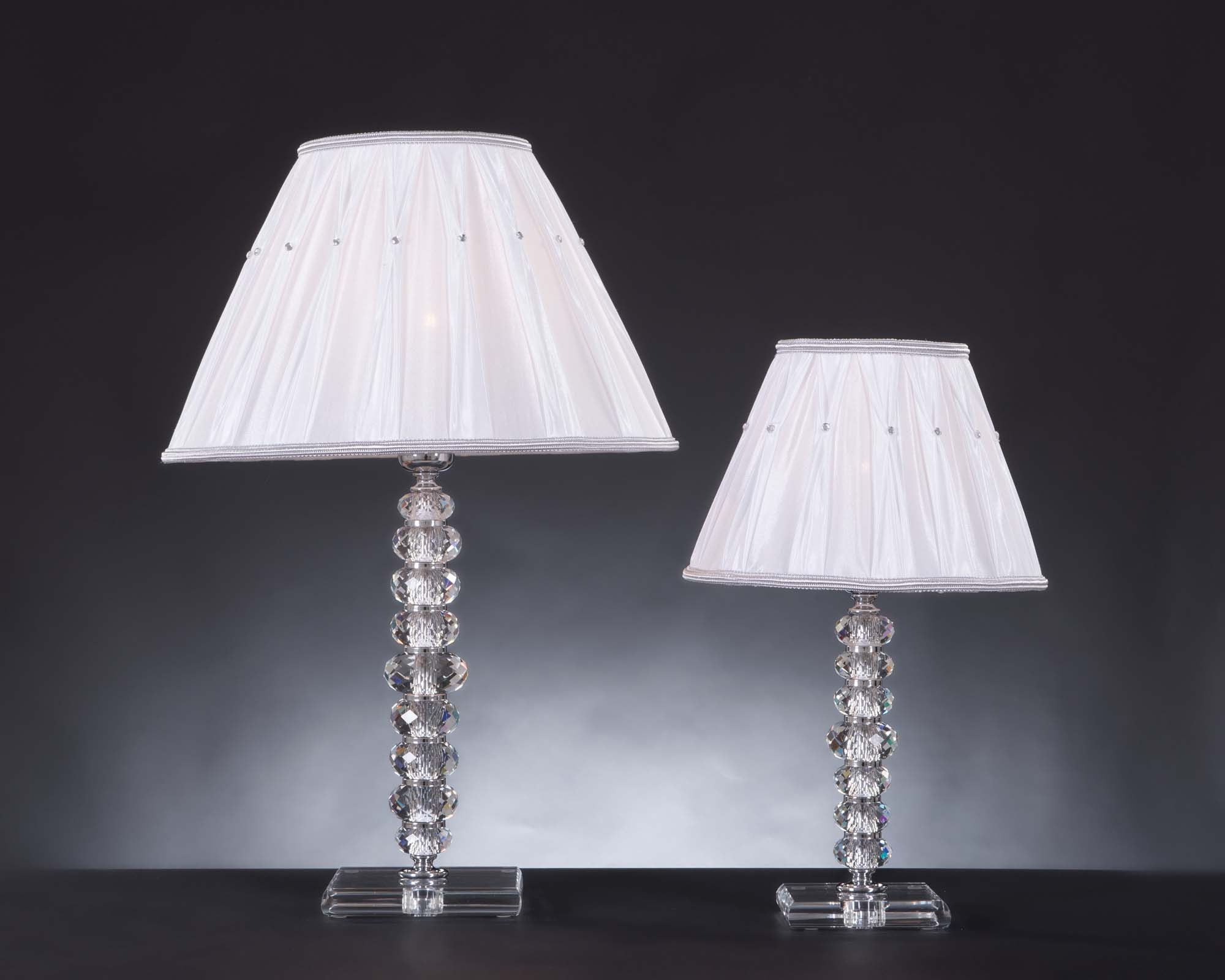 Lume grande moderno in cristallo 1 luce design swarovsky irene