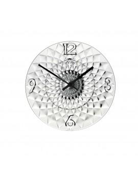 Modern clock guzzini trasparente Toujours