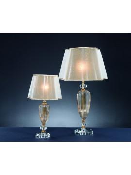 Classic crystal light 1 light Design Swarovsky Sofia amber