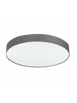 Plafoniera moderna in tessuto grigio a 5 luci GLO 97617 Pasteri