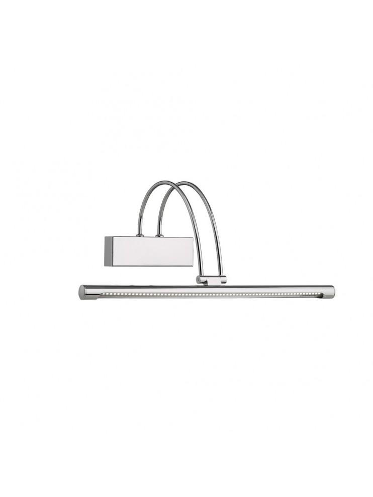 Applique a 1 luce moderno a led coll. bow ap66 cromo