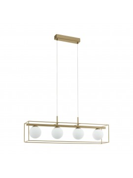 Modern vintage chandelier 4 lights NY 97793 Vallaspra
