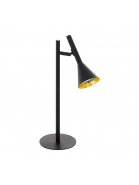 Modern led table lamp black 1 light GLO 97805 Cortaderas