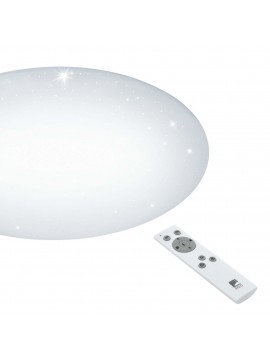 Contemporary LED ceiling light with multifunction remote control GLO 97541 Giron-s