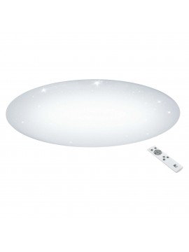 Contemporary LED ceiling light with multifunction remote control GLO 97543 Giron-s
