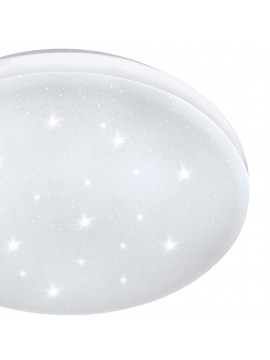 Contemporary crystal effect ceiling light LED GLO 97877 Frania-s