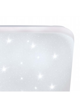 Contemporary square crystal effect ceiling light GLO 97882 Frania-s