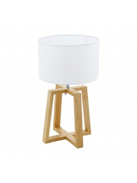 Modern design wooden table lamp GLO 97516 chietino 1