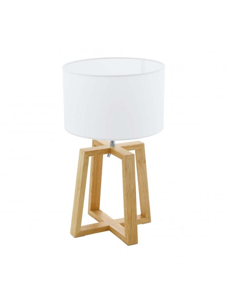 Lampada da tavolo moderna design legno GLO 97516 chietino 1