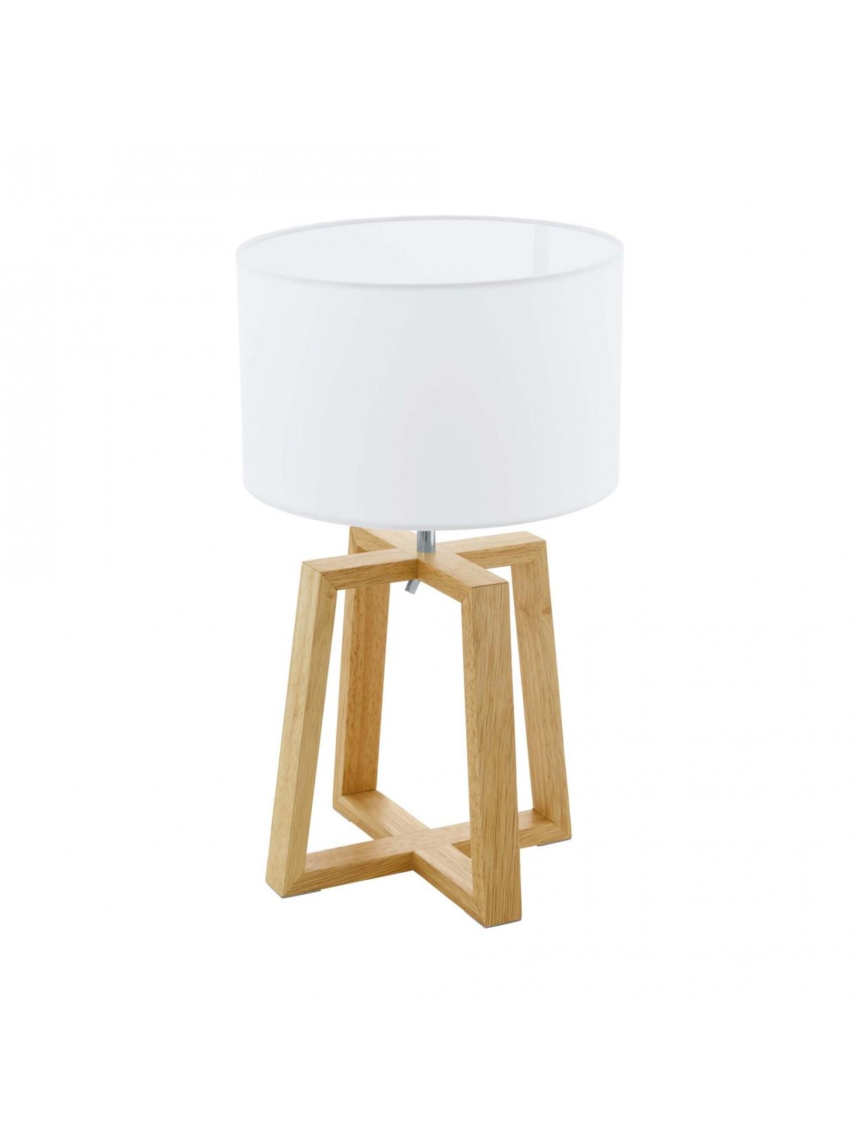 Design Lampade Da Tavolo lampada da tavolo moderna design legno glo 97516 chietino 1