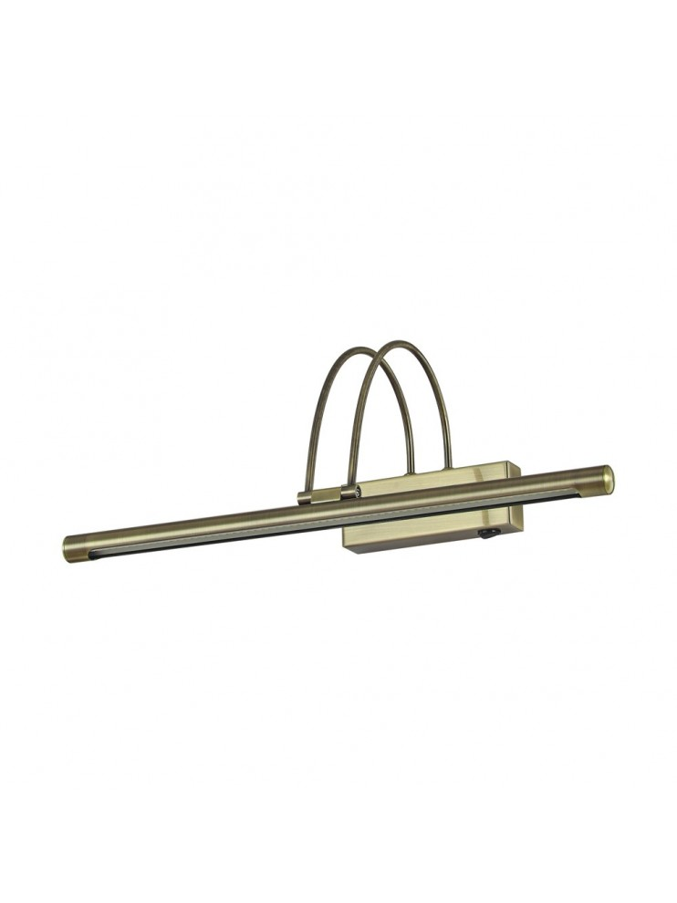 Modern LED wall light coll. bow ap66 burnished