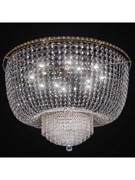 Classic swarovsky gold crystal ceiling light 12 lights BGA 2286-pl100