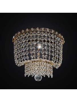 Swarovsky design gold classic wall light 1 light BGA 2286-a