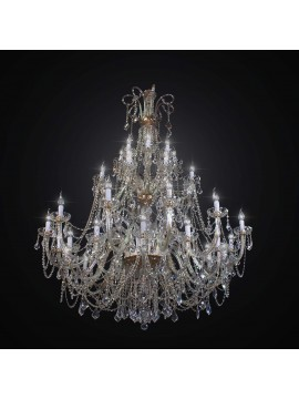 Swarovsky design crystal classic chandelier with 40 BGA lights 2312-40