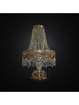 Classic large crystal lamp in gold swarovsky design 2 lights BGA 3009-lg