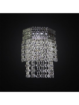 Classic wall lamp in chrome crystal swarovsky design 1 light BGA 3017-a1