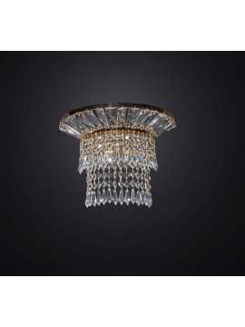 Swarovsky design gold classic wall light 2 BGA lights 3032-a2