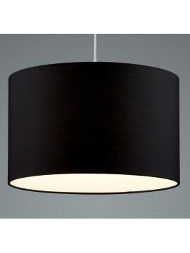 Lampadario in tessuto nero 1 luce trio 303300102 Hotel