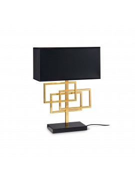 Modern black lamp ideal design ideal-lux Luxury tl1 brass