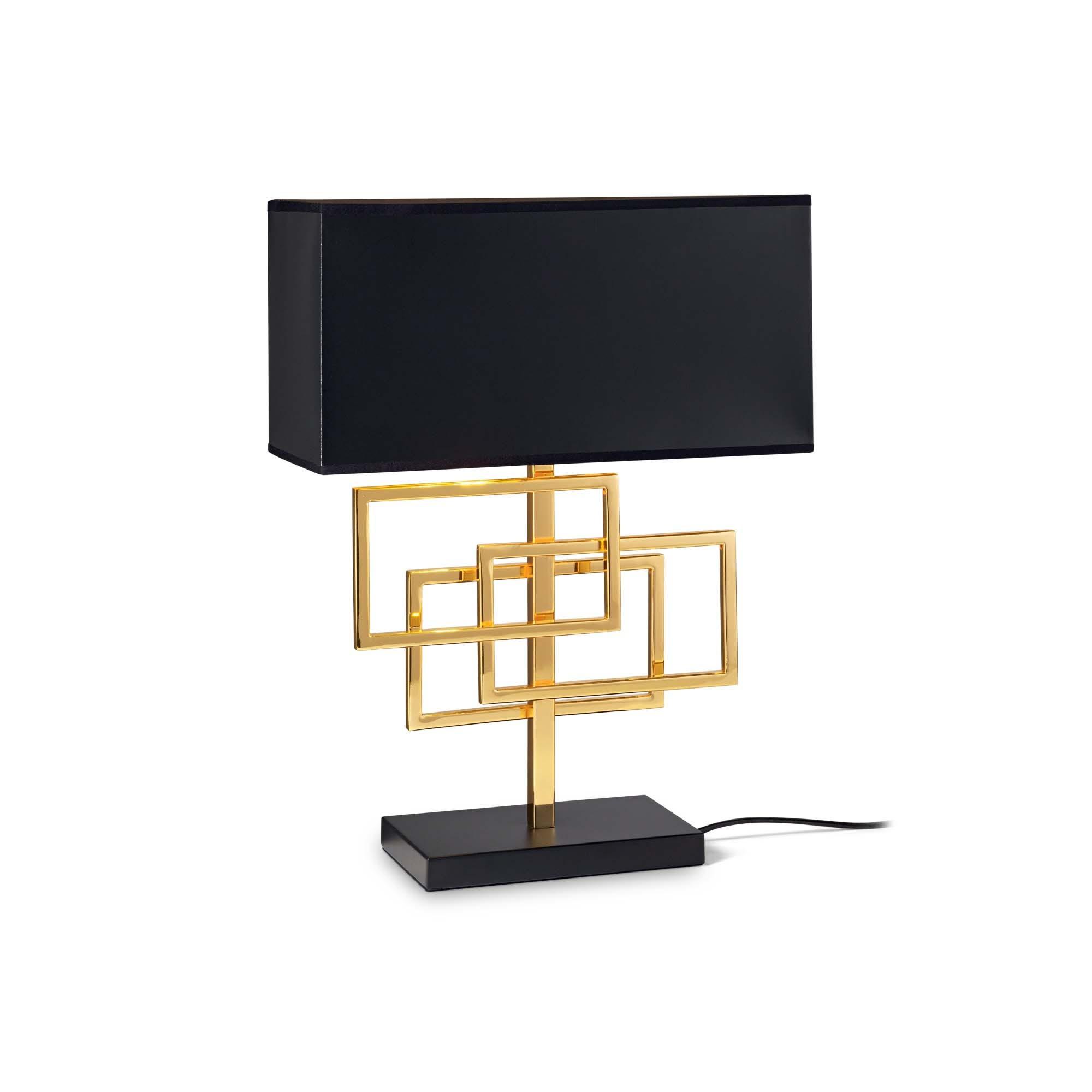 IDEAL LUX lampada da tavolo Alfiere Tl1 Big colore cromo montatura in metallo