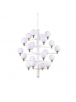 Modern minimal minimal-ideal design chandelier Copernicus sp20 white