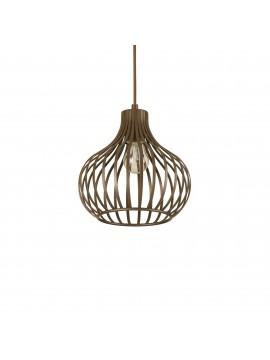 Modern design vintage chandelier 1 ideal-lux light Onion sp1 d.23cm