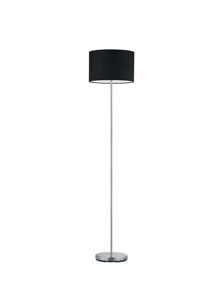 Floor lamp in black fabric 1 light trio 401100102 Hotel