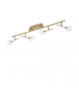 Plafoniera classica led snodabile spot a 4 luci ideal-lux Maracas pl4