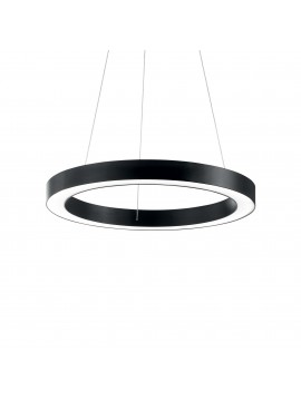 Modern circular chandelier 31w ideal-lux Oracle sp1 d.60cm black