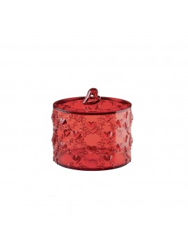 Small container with lid guzzini love 11520065 red