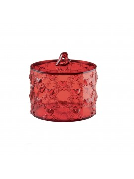 Large container with lid guzzini love 11530065 red