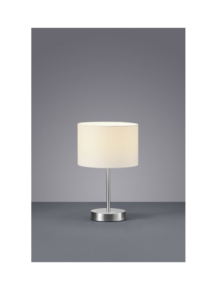 Modern white table lamp in trio fabric 501100101 Hotel