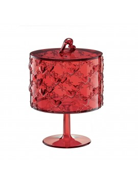 Big stand with cover guzzini love 11540165 red