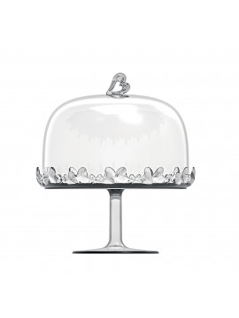 Big stand with bell guzzini love 11550100 transparent
