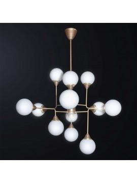 Contemporary design contemporary chandelier 12 lights BGA 3051-12