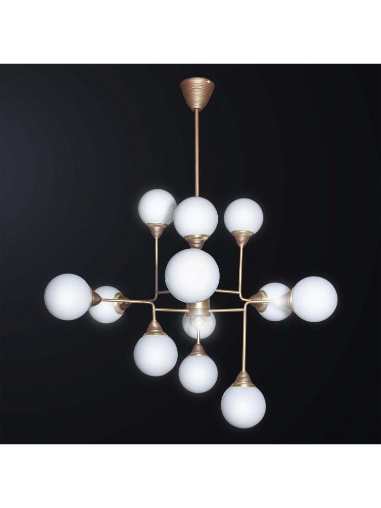 Lampadari Design Moderni.Lampadario Contemporaneo Design Moderno 12 Luci Bga 3051 12