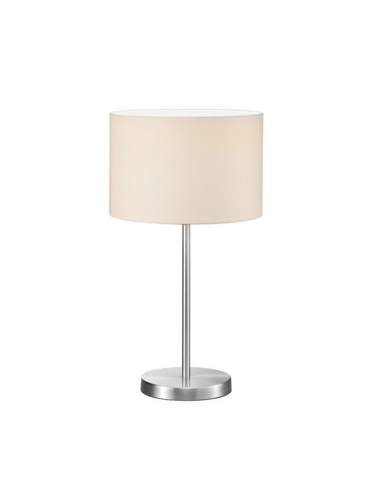 Lume grande moderno 1 luce tessuto bianco trio 511100101 Hotel
