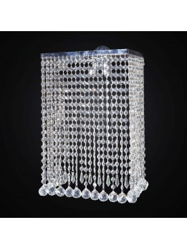 Modern cascading crystal wall sconce 2 lights BGA 3059-a swarovsky design