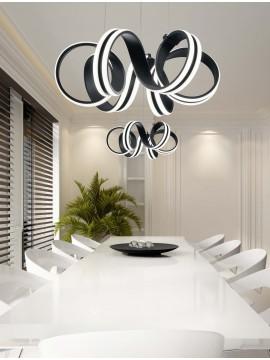 Modern design trio led chandelier 325010132 Carrera