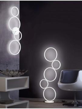 Piantana a led moderna design bianco trio 422610531 Rondo
