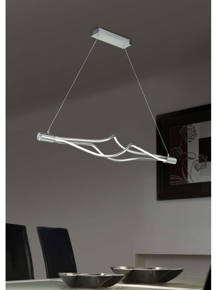 Lampadario A Led Moderno.Lampadario A Led Moderno Design Intreccio Trio 379890307 Loop