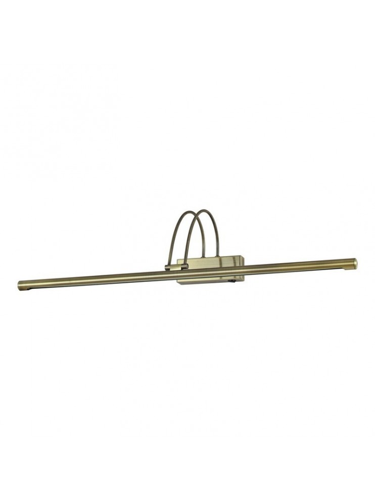 Modern LED wall light coll. bow ap114 burnished