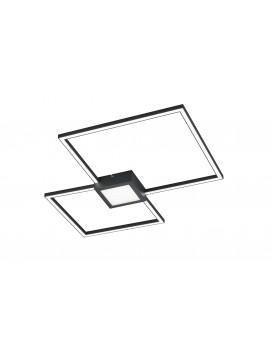 Modern led ceiling lamp design anthracite trio 676210342 Hydra