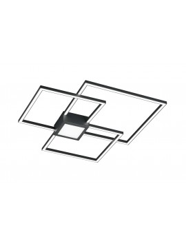 Modern led ceiling lamp design anthracite trio 676210442 Hydra