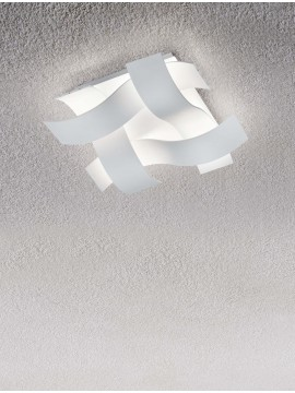 Modern led ceiling lamp with white trio design 623810431 Ruby