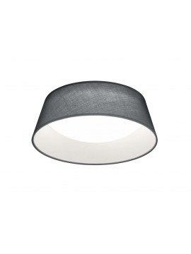 Modern led ceiling lamp in trio gray fabric R62871211 Ponts