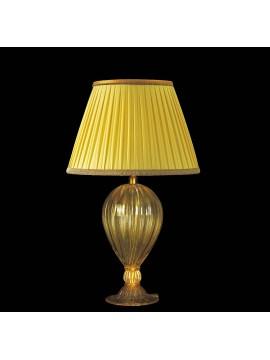 Lume di murano venezia oro 24k 1 luce made in italy 7560 lg