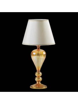 Lume di murano venezia ambra 1 luce made in italy 7890 lg