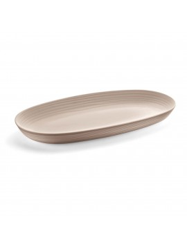 Serving tray guzzini Tierra collection 175400158 tortora