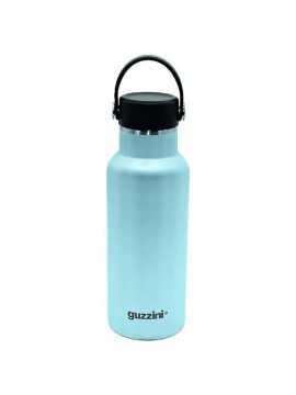 Thermal bottle 500ml bottle in steel guzzini 118250134 light blue